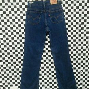 Levis jeans for girls 517 slim 14
